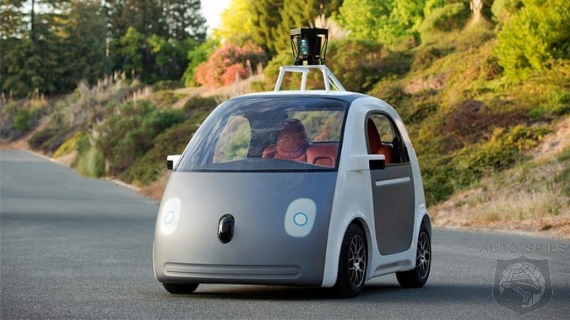 Google Reveals Self Driving Car Prototype - Would You Dare Be Caught In A Clown Car Like This?