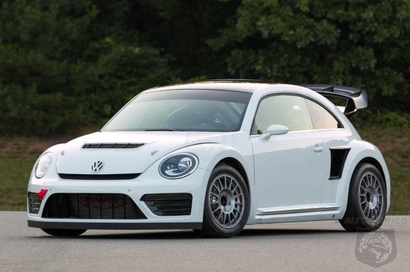 Volkswagen Pulls The Wraps Off Of 544 HP Beetle GRC Racer