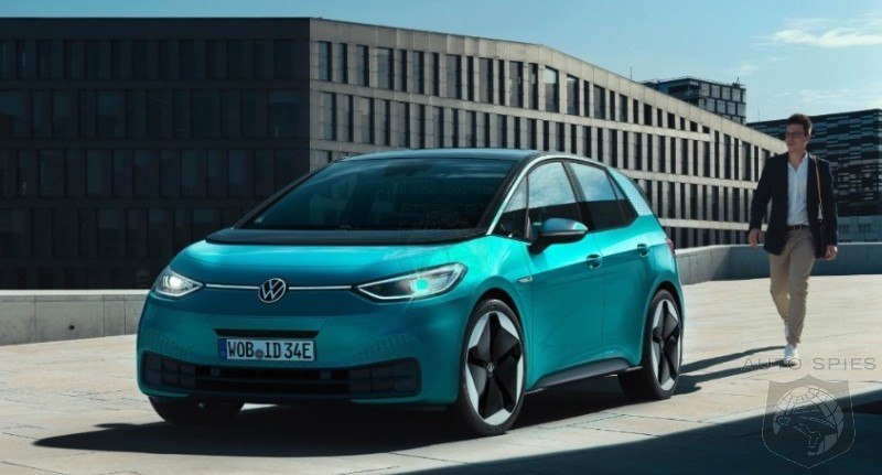 IAA: Volkswagen's ID 3 Tries To Create The Magic With A Tesla for The Common Man