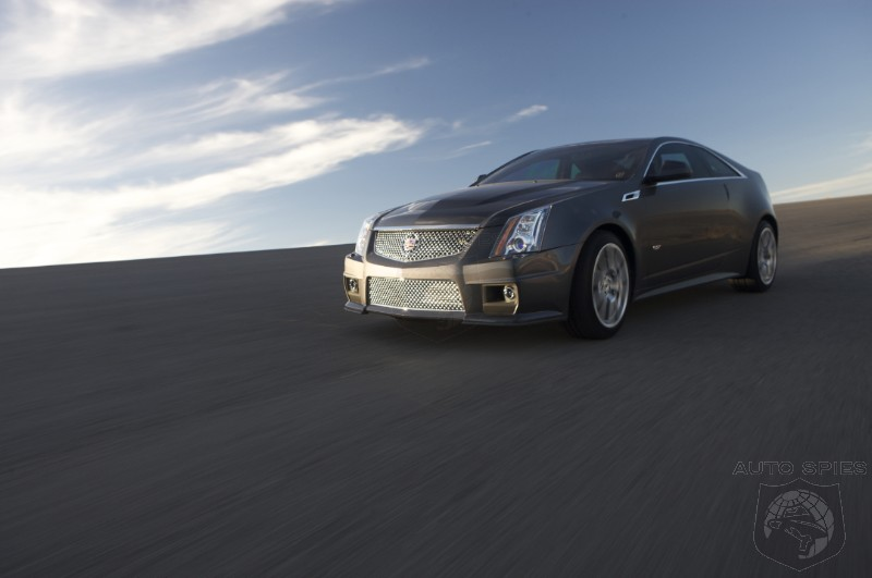 Say What? WSJ Says New CTS-V Coupe Makes The M3 and RS-5 Look Like Taxis