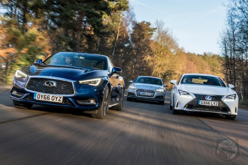 Lexus Vs Audi >> Battle Of The Luxury Sport Coupes Infiniti Q60 Vs Lexus Rc