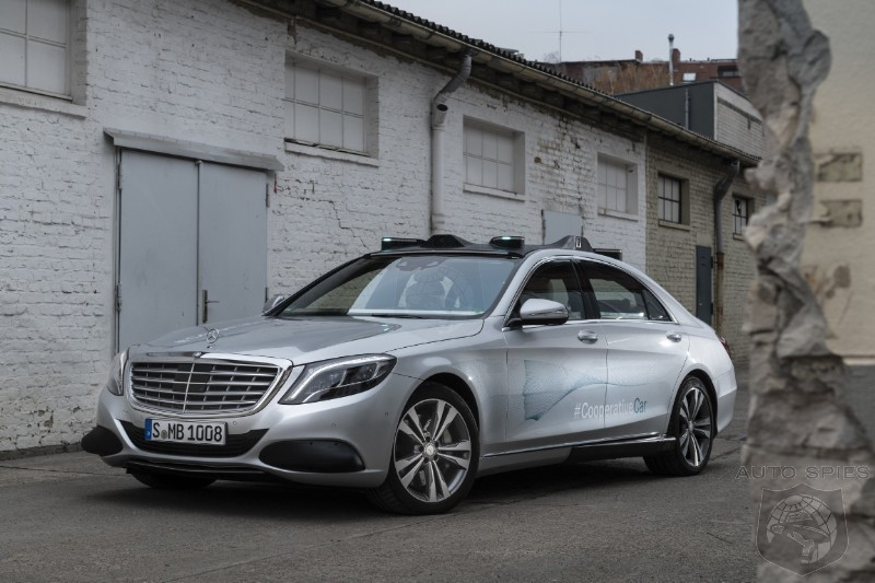 Mercedes Pilots Self Driving S Class Taxis In California