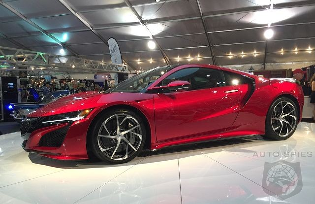 The Very First Production Acura NSX Finally Rolls Off Of The Assembly Line Will It Be More Of A Hit Than The LFA