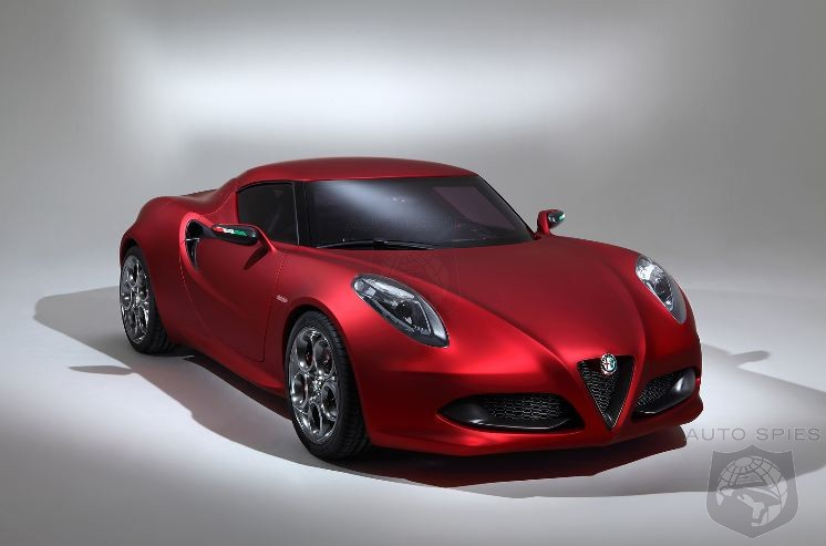 Alfa Romeo 4C Ahead Of Schedule May Debut Summer 2013