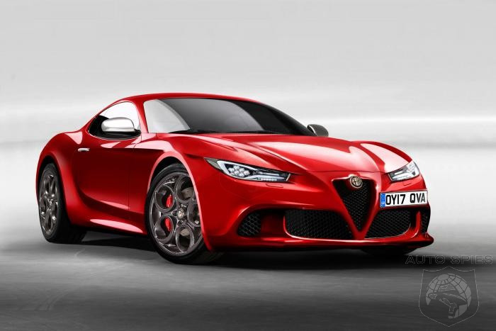 STUD OR DUD? Alfa Romeo To Take On Jaguar F-Type With Alfa 6C Coupe