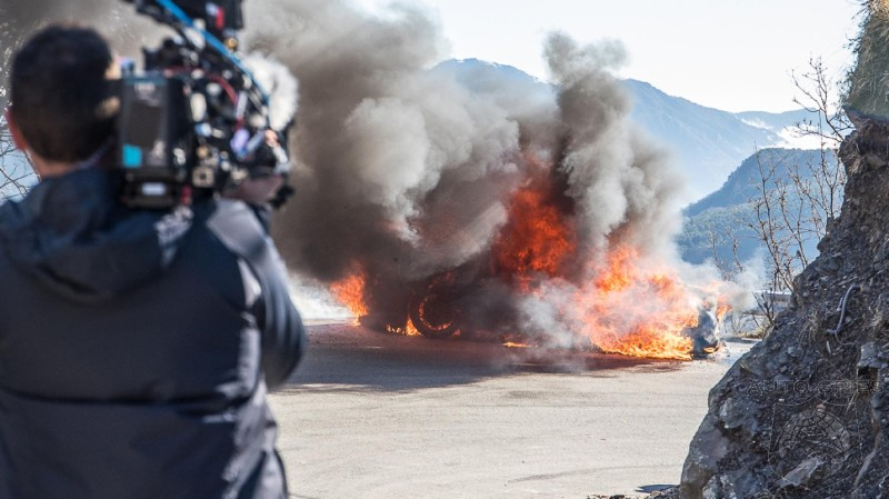 Ooops! Alpine Sports Car A110 Goes Up In Flames While Filming Top Gear Episode