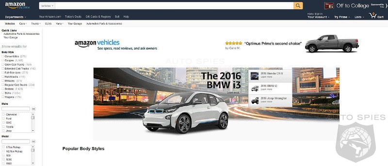 Would Consider Buying Your Next Vehicle Through An Amazon Car Dealership?
