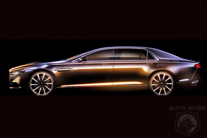 Lagonda To Return!  Aston Martin Teases Limited Edition Luxury Sedan