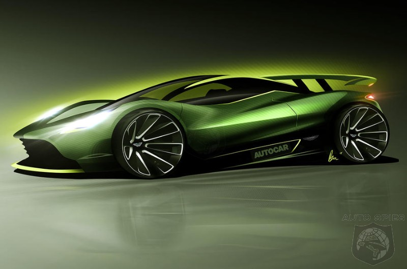 Aston Martin To Answer McLaren's P1 With HyperCar Of It's Own