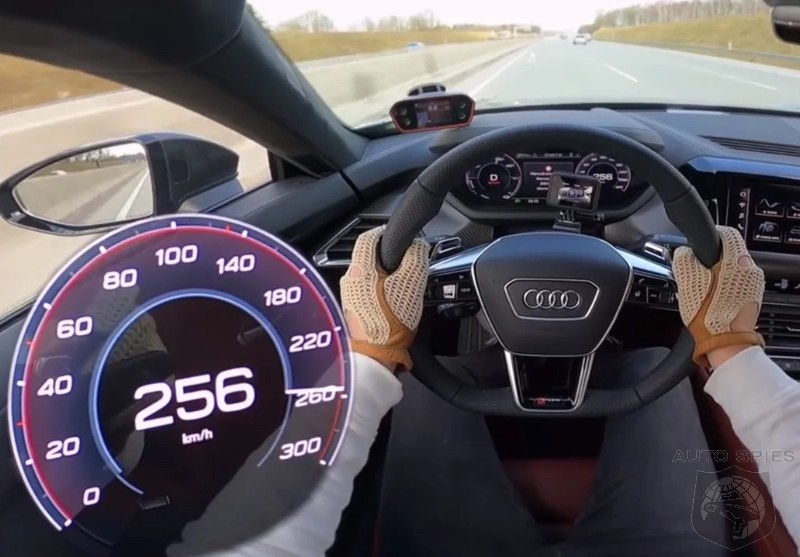 WATCH: Just How Fast Does That Audi RS e-Tron GT Go On The Autobahn?