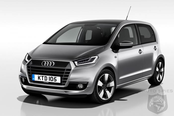 audi planning own version of vw up code named a0 autospies auto news. Black Bedroom Furniture Sets. Home Design Ideas