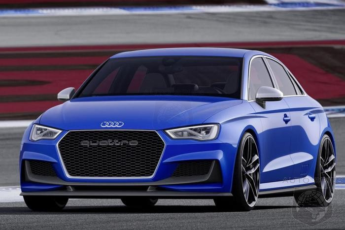 Move Over AMG! - Audi Reveals 518 HP A3 Clubsport Quattro Concept