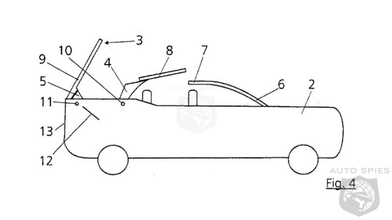 Audi Files A Patent For Folding Top SUV - Is A Cabriolet Q8 On the Way?