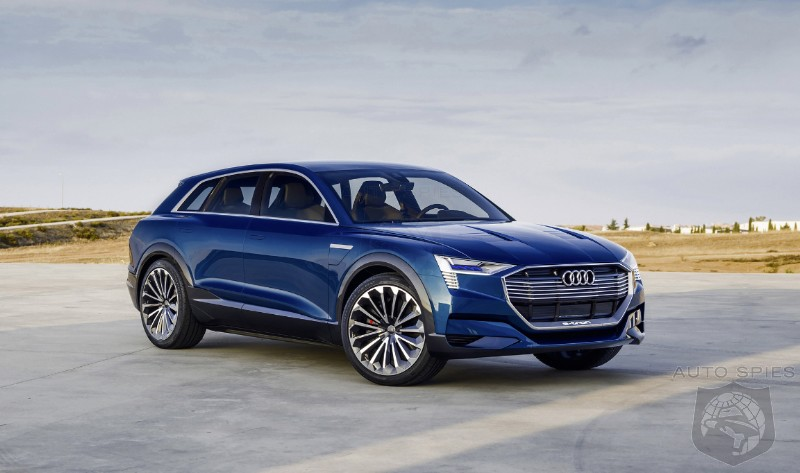 Audi Opens The Order Books On The E Tron Quattro All Electric SUV Are The Model X Days Numbered