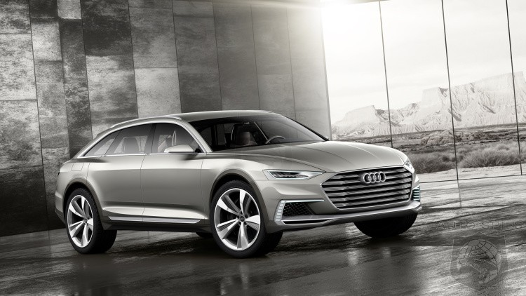 Audi Reveals The Prologue Allroad Ahead Of Shanghai Debut Are Ready To Trade In That Crossover Yet