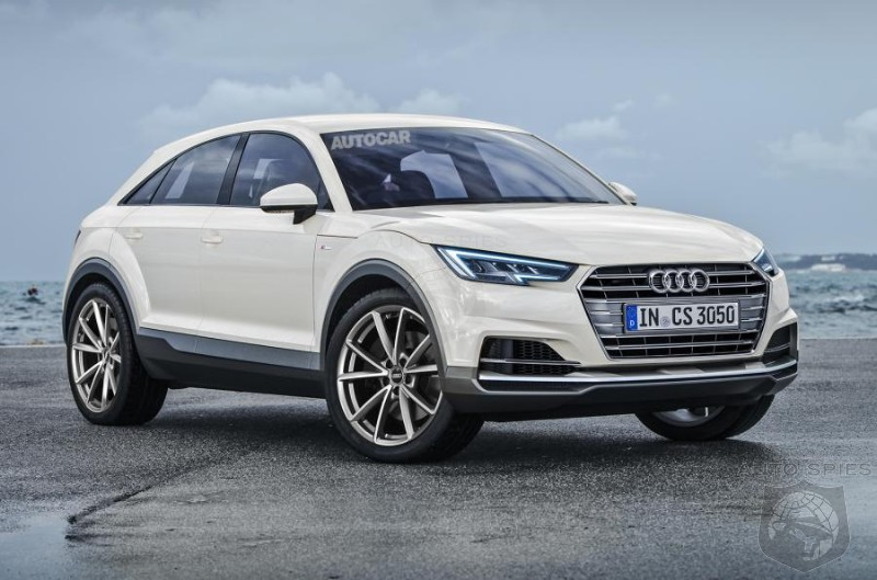 Audi Confirms Q4 Coupe Crossover In 2019