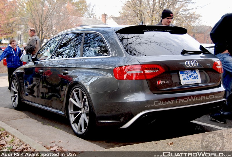 Forbidden Fruit: Audi RS4 Avant Caught In Front Of US Headquarters