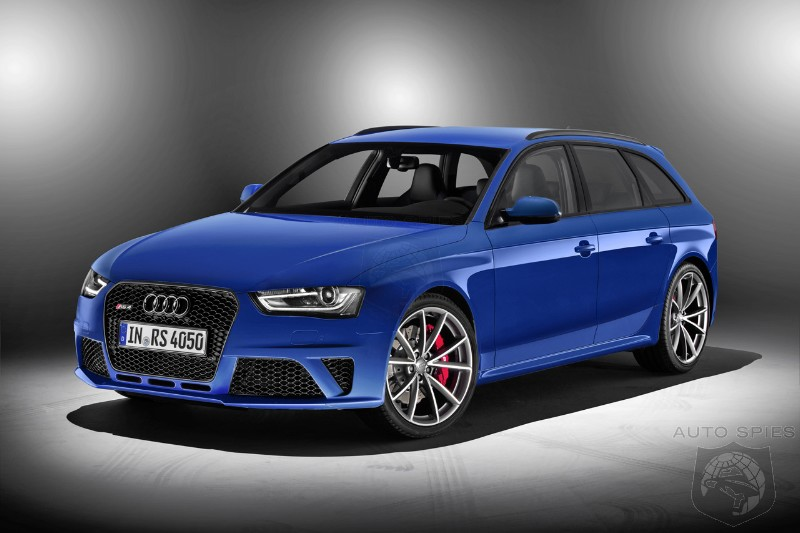 GENEVA MOTOR SHOW: Audi RS 4 Avant Nogaro Selection Celebrates 20 Years Of RS Tradition