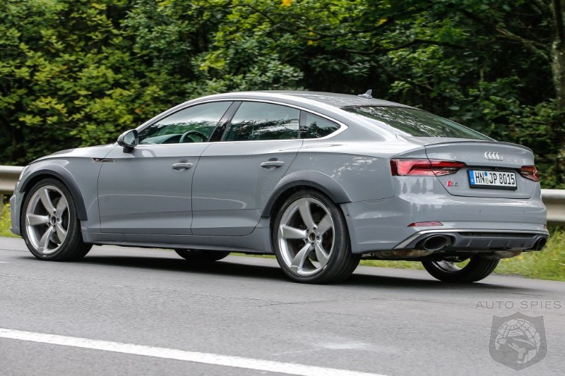 Audi Confirms RS5 Sportback And Mystery RS Model Coming To The US