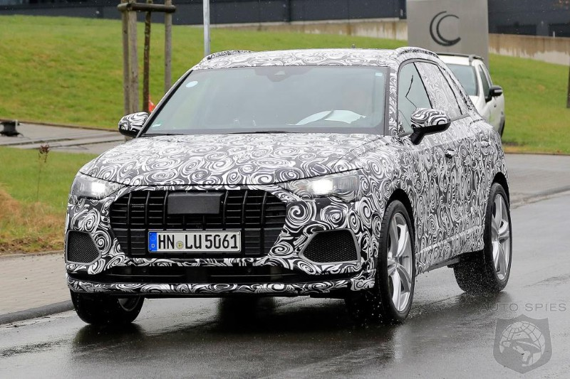audi already working on performance version of new q3 crossover autospies auto news. Black Bedroom Furniture Sets. Home Design Ideas