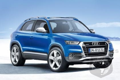 audi q1 mini suv to debut in 2016 autospies auto news. Black Bedroom Furniture Sets. Home Design Ideas