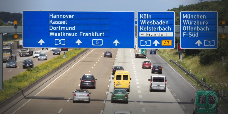 Germany Considers Limiting Autobahn Speeds To Curb Greenhouse Gases