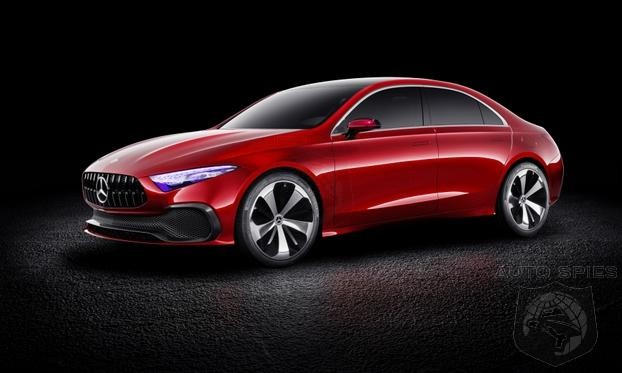 No More Creases? Rounded Body Lines Dominate Mercedes Next Gen Styling Language