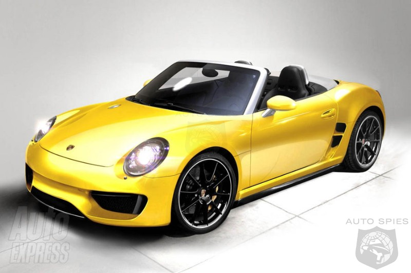 Baby Boxster Planned To Slot In Under $50K