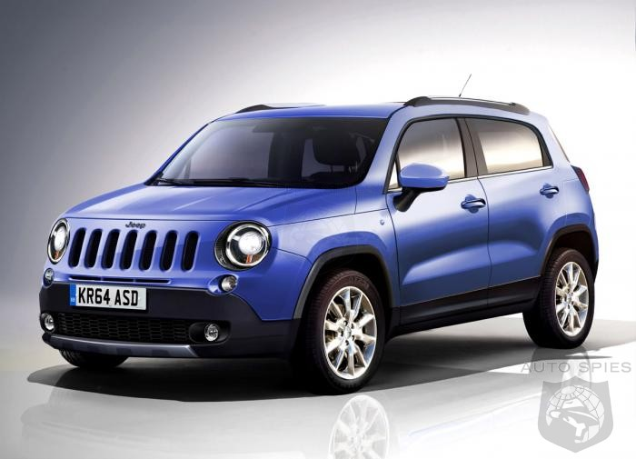 Jeep To Unveil Fiat 500 Based Crossover - But Can You Accept This As A Real Jeep?