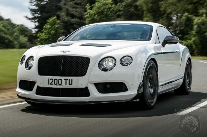 STUD OR DUD? Bentley Reveals The 572 HP Continental GT3-R
