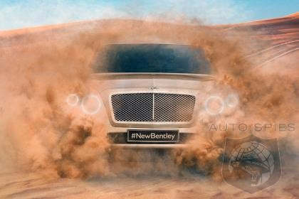 Priced To Sell? Bentley SUV To Debut In 2016 At Around $240,000