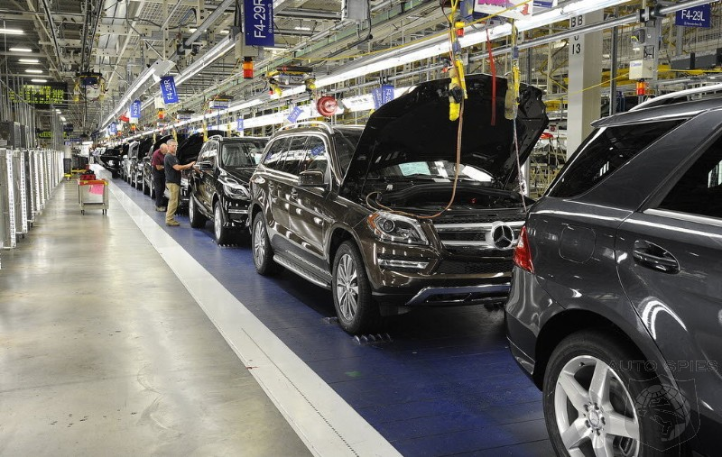 Maga Mercedes To Invest 1 Billion Into Tuscaloosa Embly Plant
