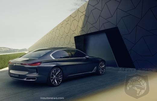 BMW Might Be Planning To Rain On Maybach's Parade With 9-Series Flagship
