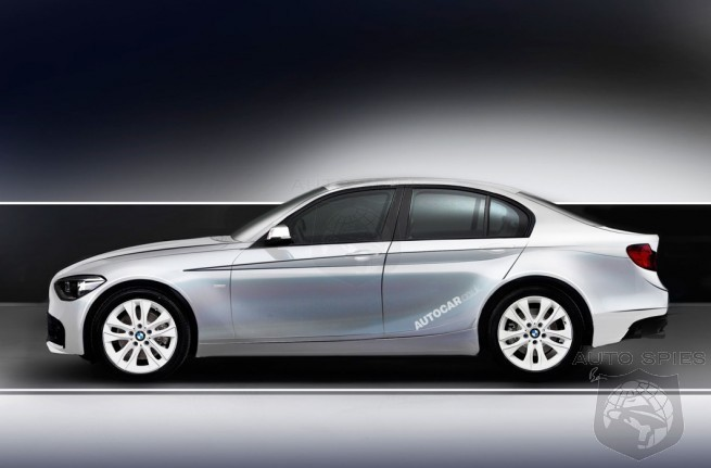 BMW 1 Series FWD Sedan To Launch in 2017