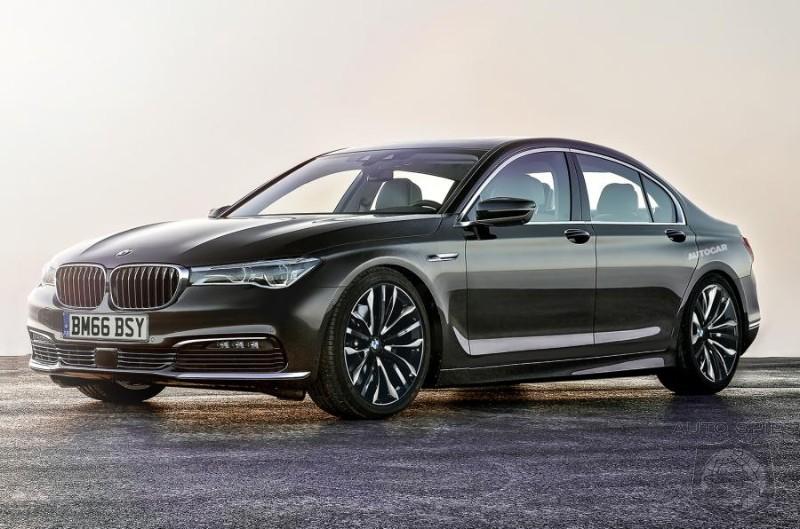 SNEAK PEEK 2017 BMW 5 Series Details Leak Out New 48 Volt Architecture