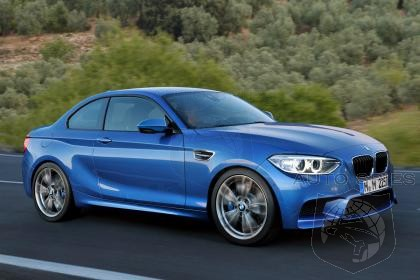 BMW Already Working On 380 HP M2 Coupe?