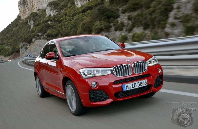 BMW Releases New Images Of The New X4 SAV - Is It Everything You Wished For?