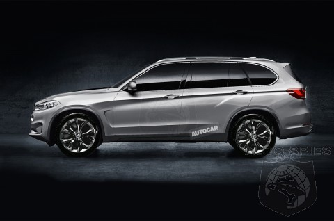 All Wheel Drive BMW X7 To Go Into Production In 2016 As Top Of The Line Model