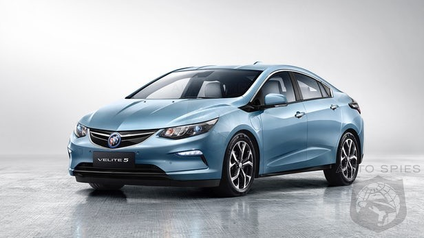 Buick To Re-Badge Chevrolet Volt As The Velite 5 And Sell In China