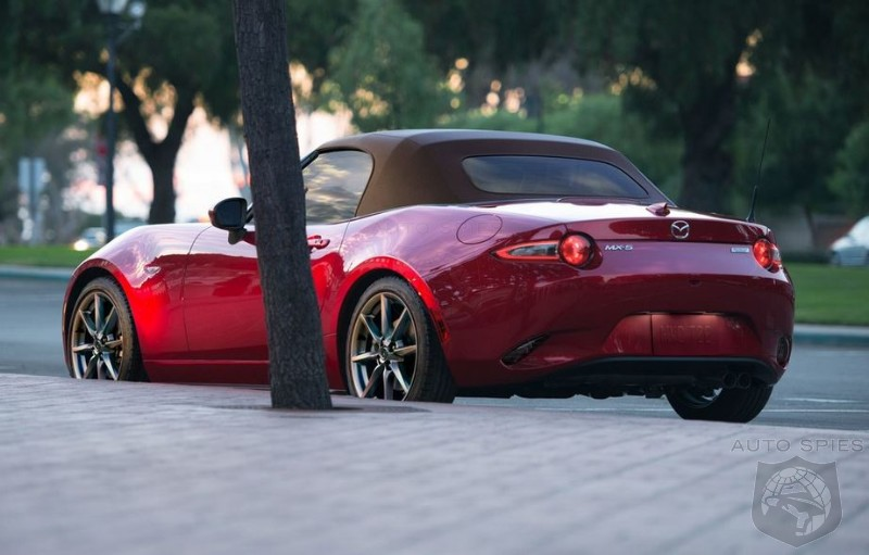 Miata MX-5 To Get A Big Dose Of Masculinity In 2019