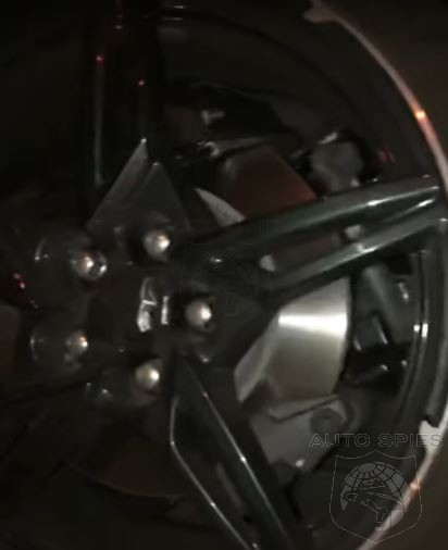 Up Close And Personal Late Night Look At 2020 Corvette Reveals Dual Rear Caliper Brakes