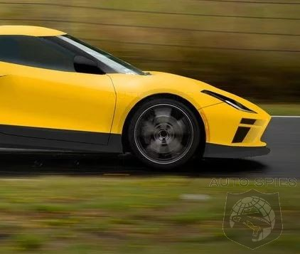 Cammo-Free C8 Corvette Photos Surface - Is THIS What You Expected