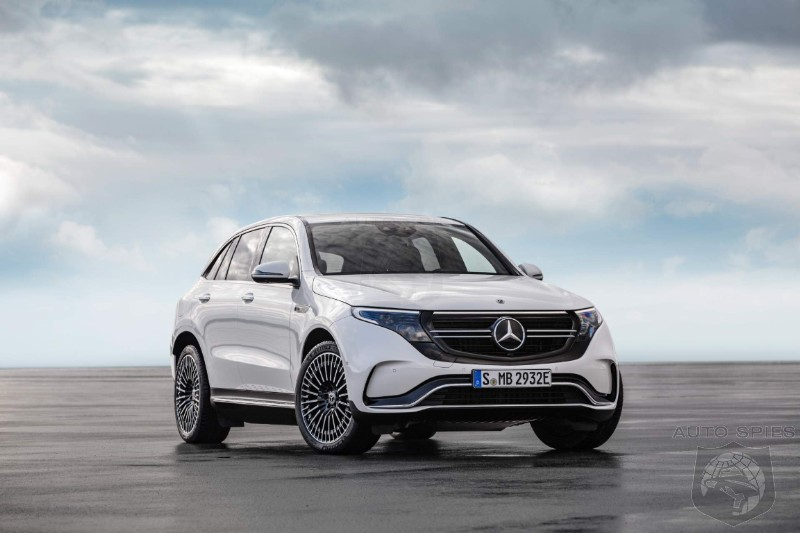Mercedes Model-X Killing EQC EV Crossover To Enter Production Next Spring