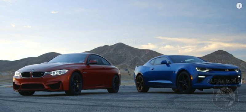 Video Shootout Bmw M4 Vs Chevrolet Camaro Ss Because Somebody Had