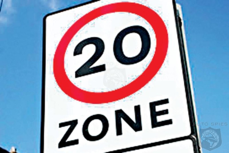 Welsh Government Wants To Impose A 20 MPH Crawl For Residential Areas