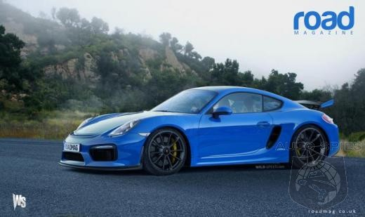 If the Porsche Cayman GT4 Looks Like THIS -  Would You Add It To Your Short List?