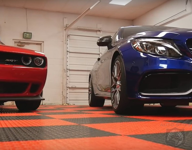 Dodge Challenger Hellcat vs Mercedes Benz C63 AMG The Most Unlikely Shootout