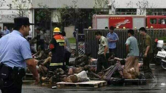 Chinese Police Arrest Officials From GM Parts Supplier After Deadly Blast