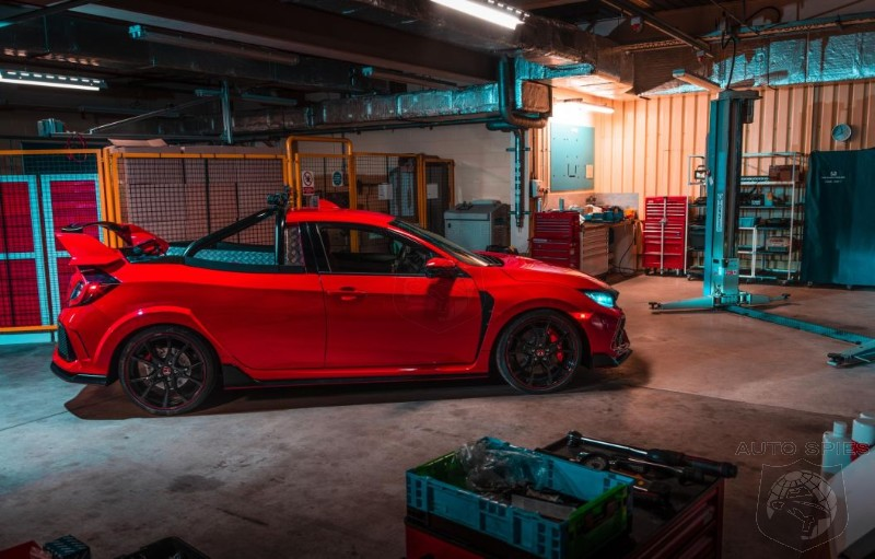 Honda UK Skunkworks Spits Out A Civic Type R Pickup - Is There A Market For Such A Beast?