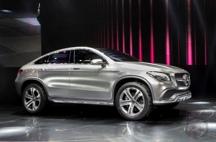 STUD OR DUD? Mercedes-Benz Unveils Concept Coupe SUV At Beijing Motor Show